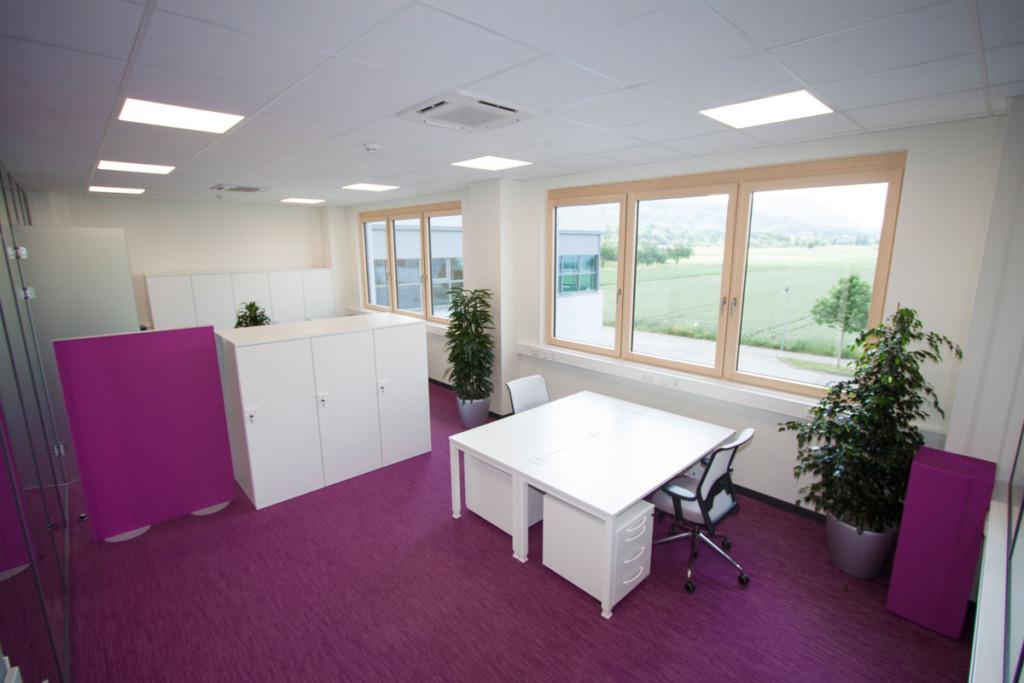 Dekorative Raumteiler zur Bürogestaltung, Melaminharzschaum - FSK, Stuttgart, Schallabsorbierende-Stellwände-Büro - Raumteiler, Bauakusitk mit Melaminharzschaum