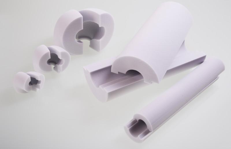 Melaminharzschaum - FSK, Stuttgart, Rohrisolierung - Formteile