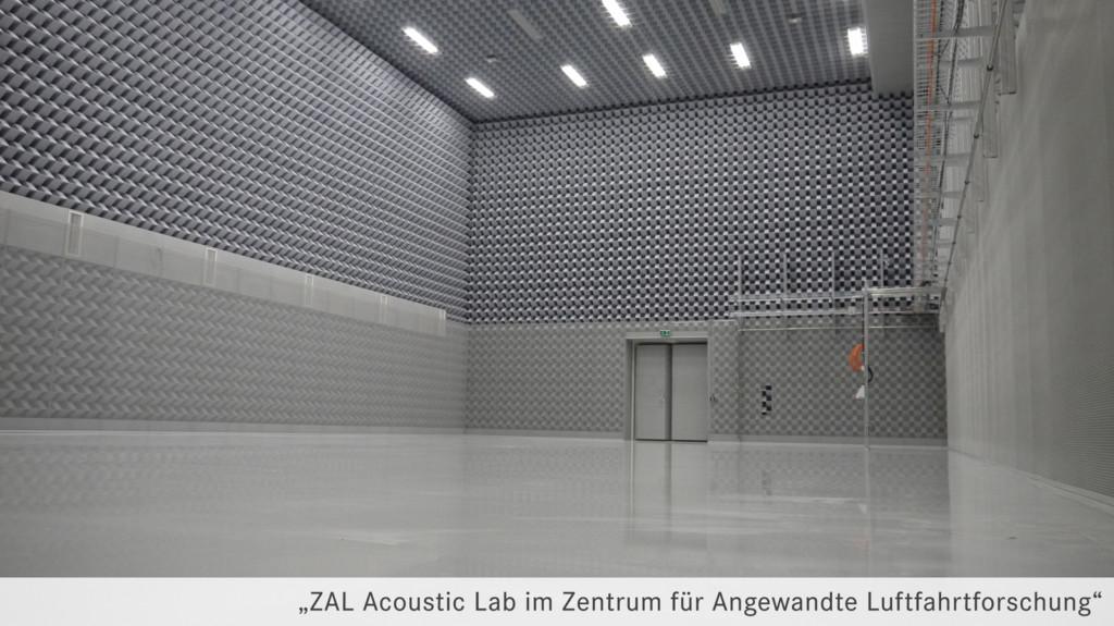 Melaminharzschaum - FSK, Stuttgart, Reflexionsarme Messräume - Halle